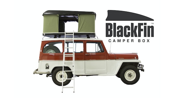 Track BlackFin Camper Box - Hard Shell Roof Top Tent