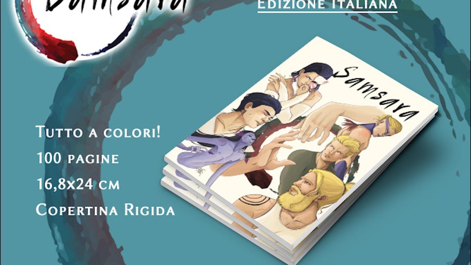 Samsara: dal webcomic all'edizione stampata in italiano!