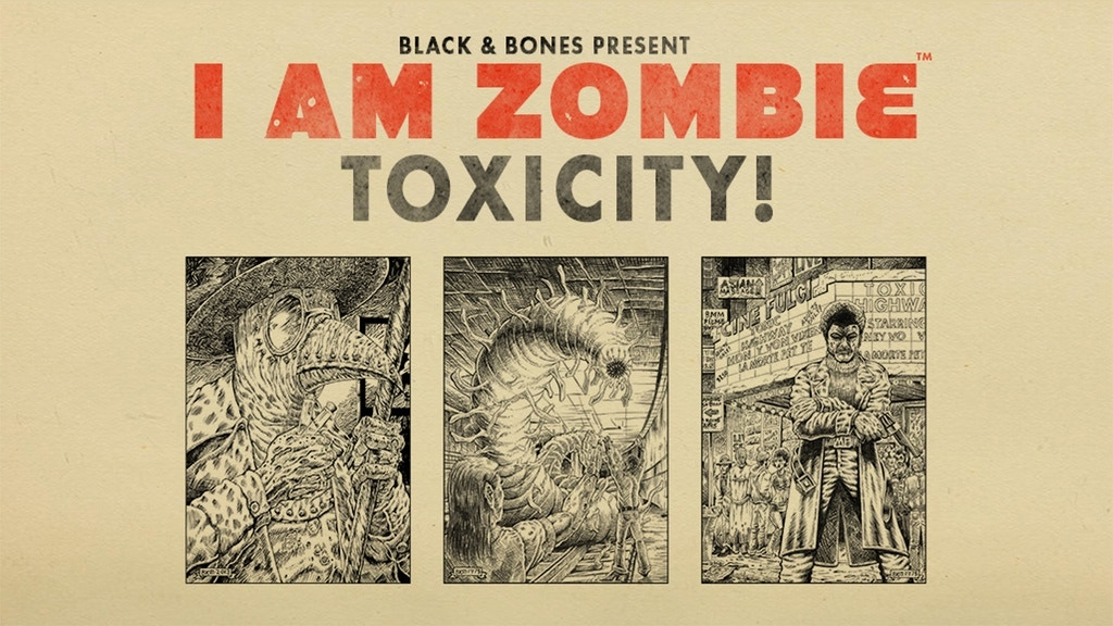 TOXICITY - I Am Zombie RPG project video thumbnail