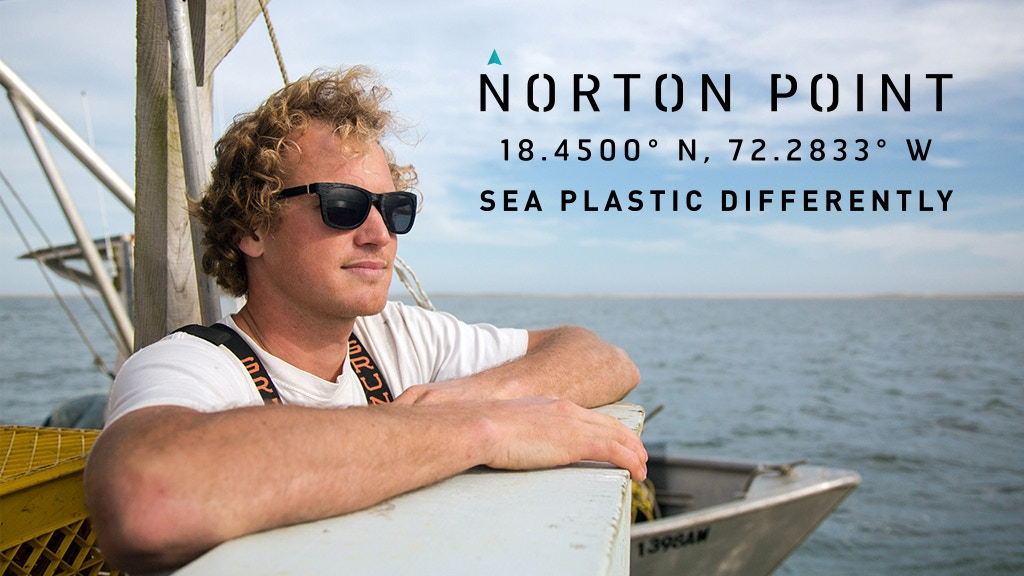 Sea Plastic Differently - Recycled Ocean Plastic Sunglasses project video thumbnail