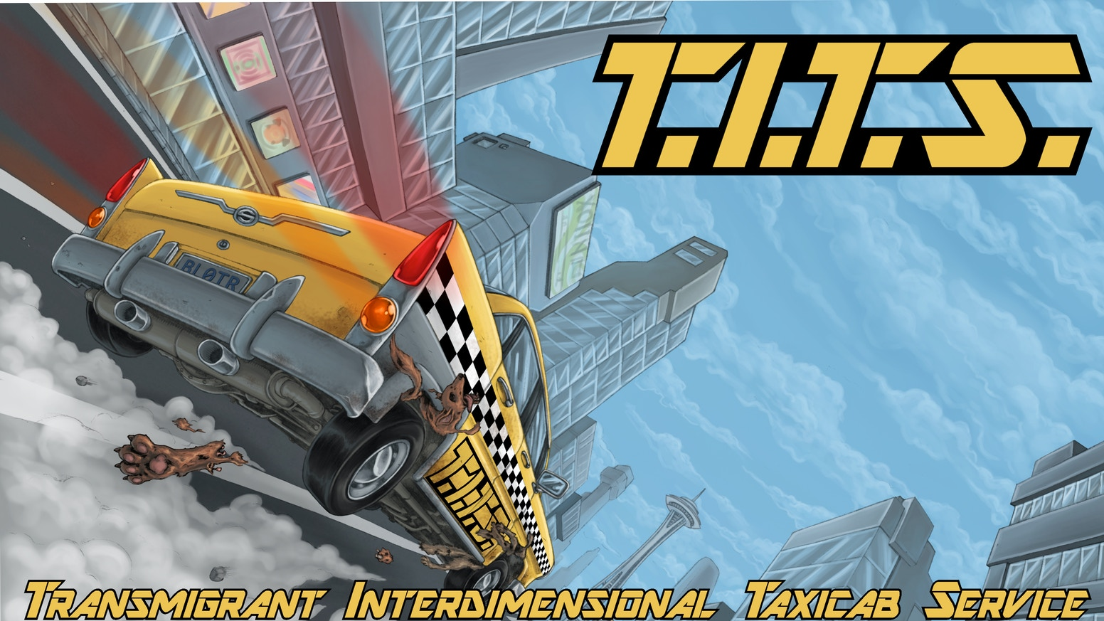 T.I.T.S. is a fantastic, witty, color comic book series that blends elements of comedy, action, and sci-fi.