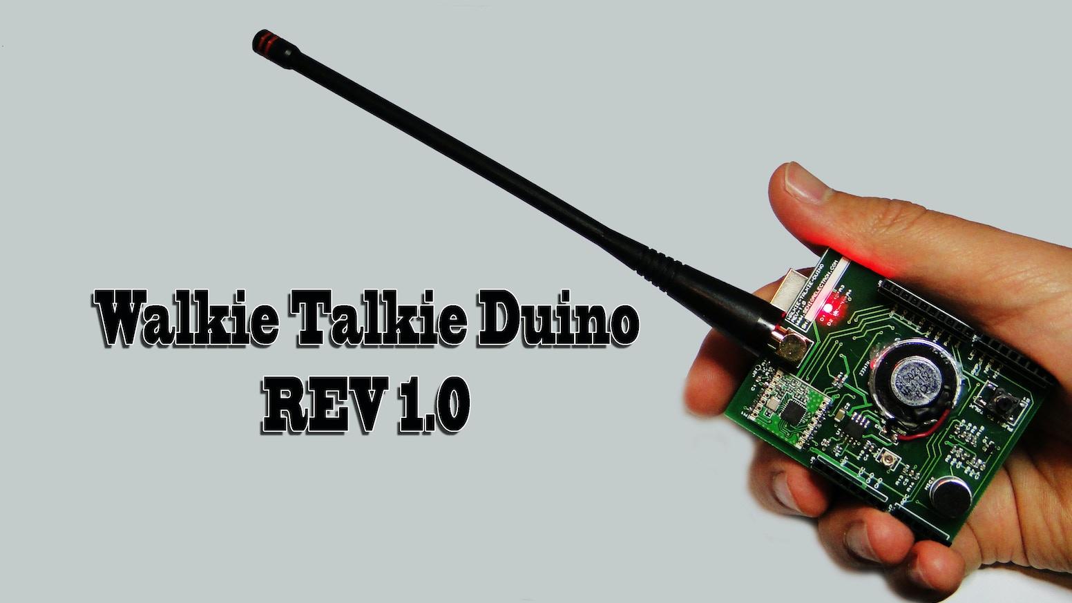 Walkie Talkie Duino by MASIH VAHIDA — Kickstarter