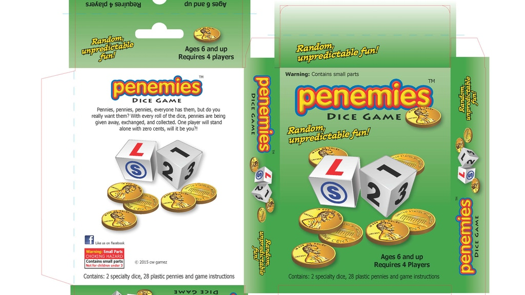 Project image for penemies dice game