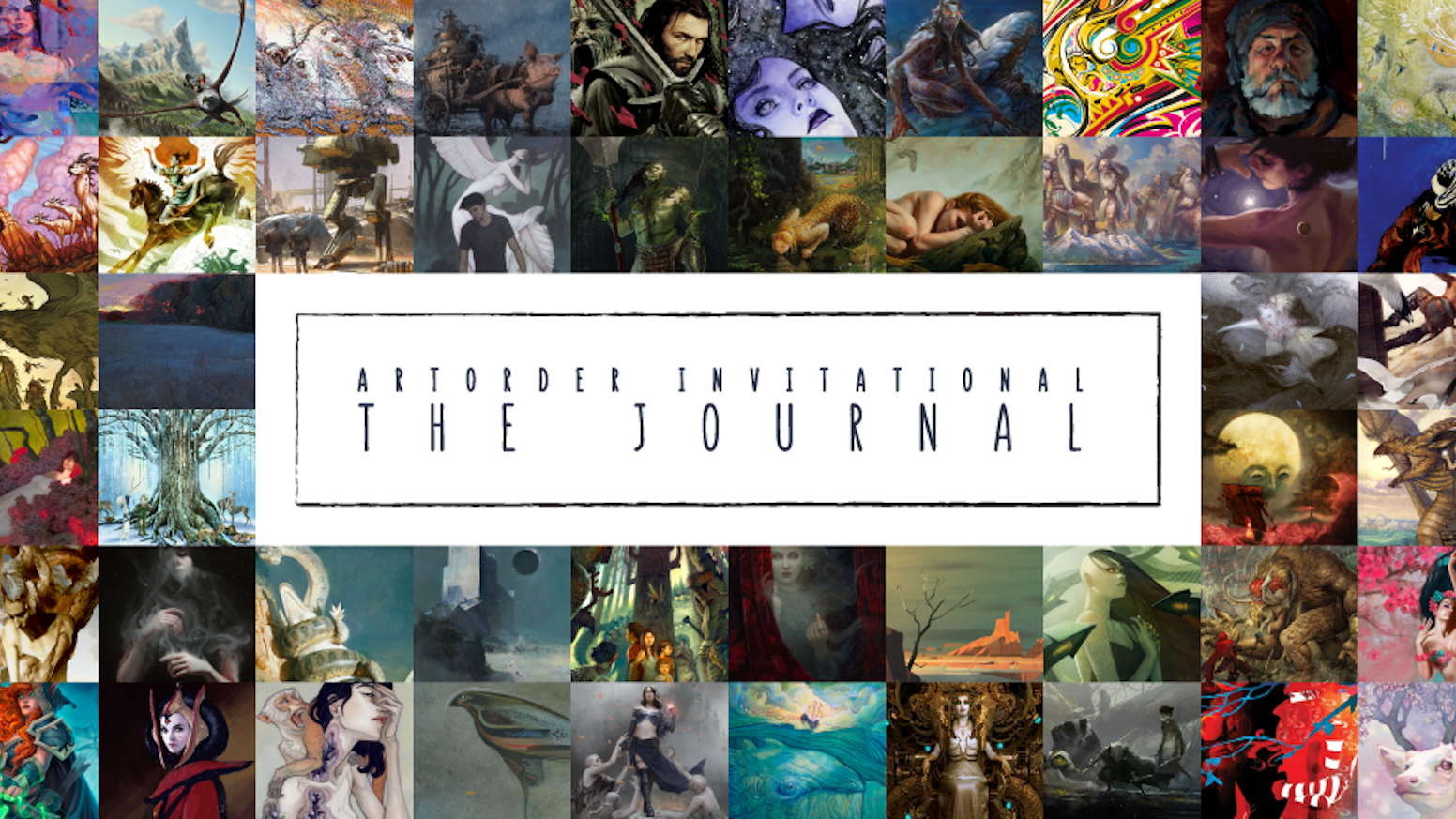 A collection of masterful international artists, from various genres and industries, creating the ultimate art journal.