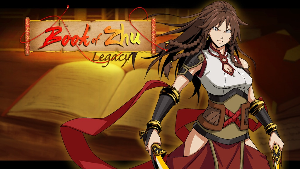 Project image for Book of Zhu: Legacy, A Wuxia inspired Visual Novel
