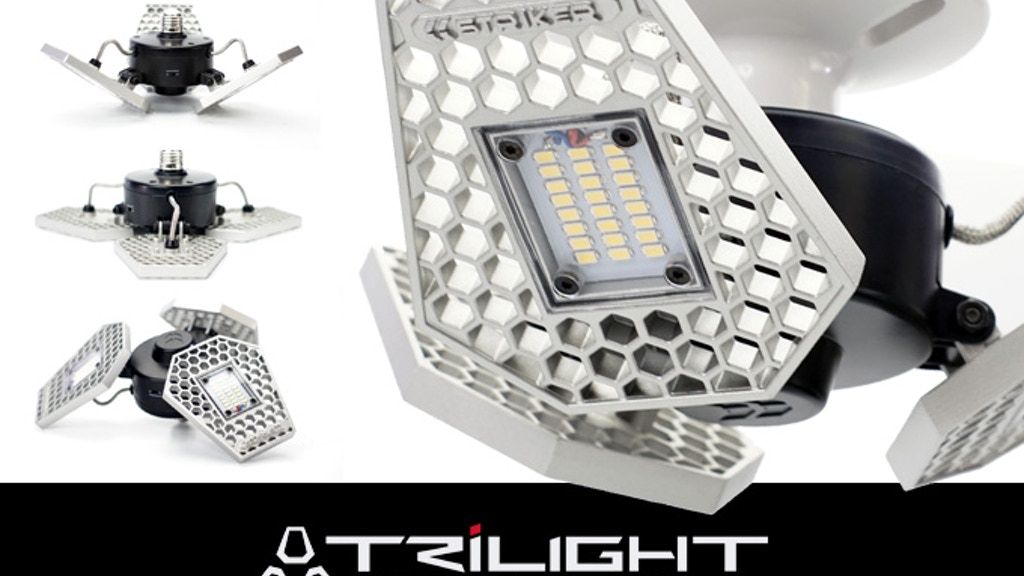 TRiLIGHT – A Motion Activated Ceiling Light For Your Garage project video thumbnail