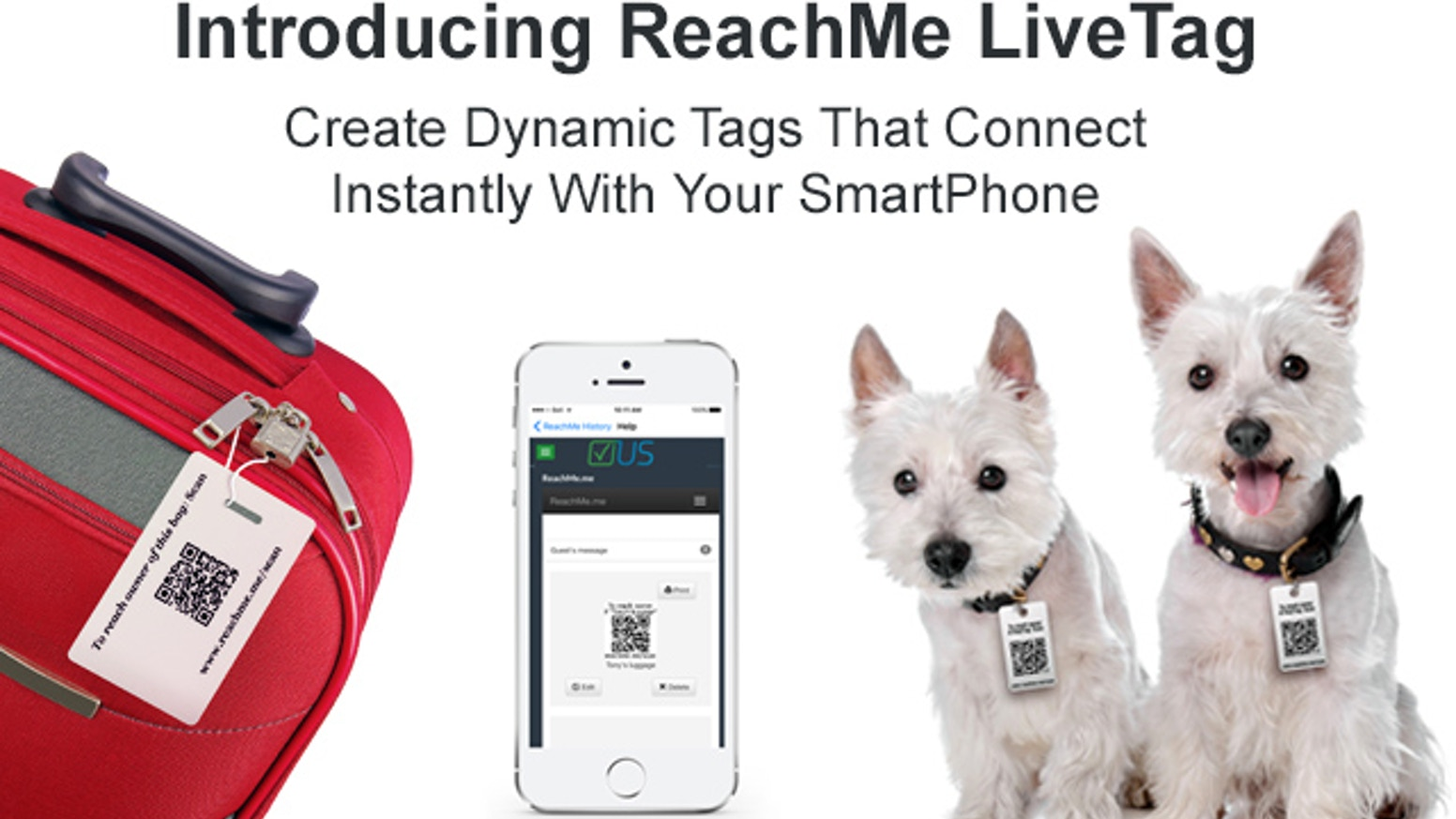 2 smart doorbell smart dog tag and luggage tag by jason lim