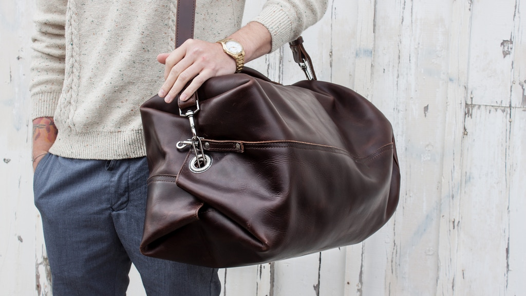 World S Most Durable Duffle Bag By Yor Leather Kickstarter