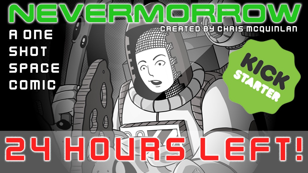 NeverMorrow: A One-Shot Space Comic project video thumbnail