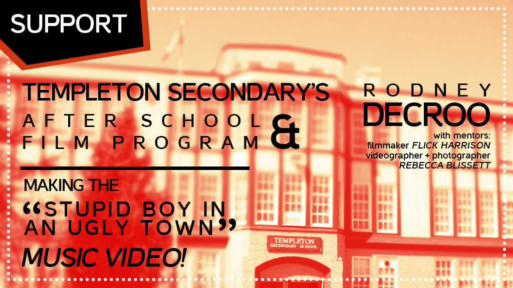 Rodney DeCroo + Templeton Secondary Make A Music Video! project video thumbnail