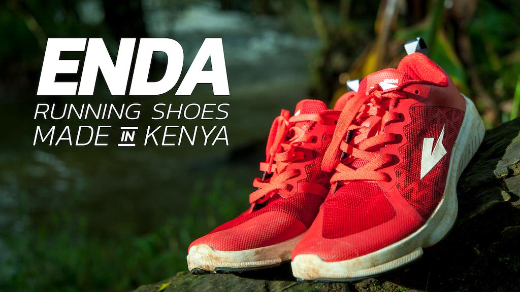 Enda: The First Kenyan Running Shoe project video thumbnail