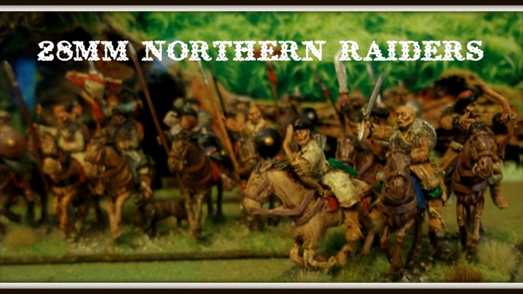 Project image for 28mm Northern Raiders