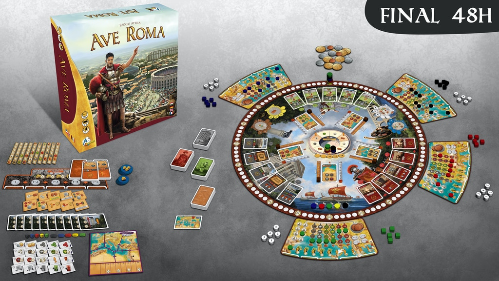 Ave Roma Premium edition project video thumbnail