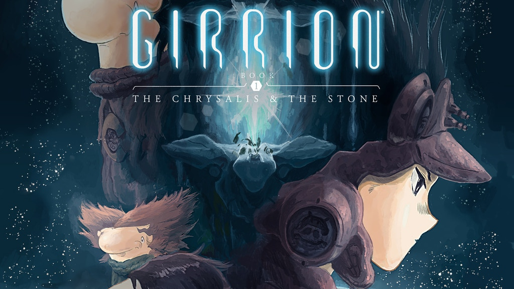 Girrion Book 1 The Chrysalis & the Stone Issues 4 & 5 project video thumbnail