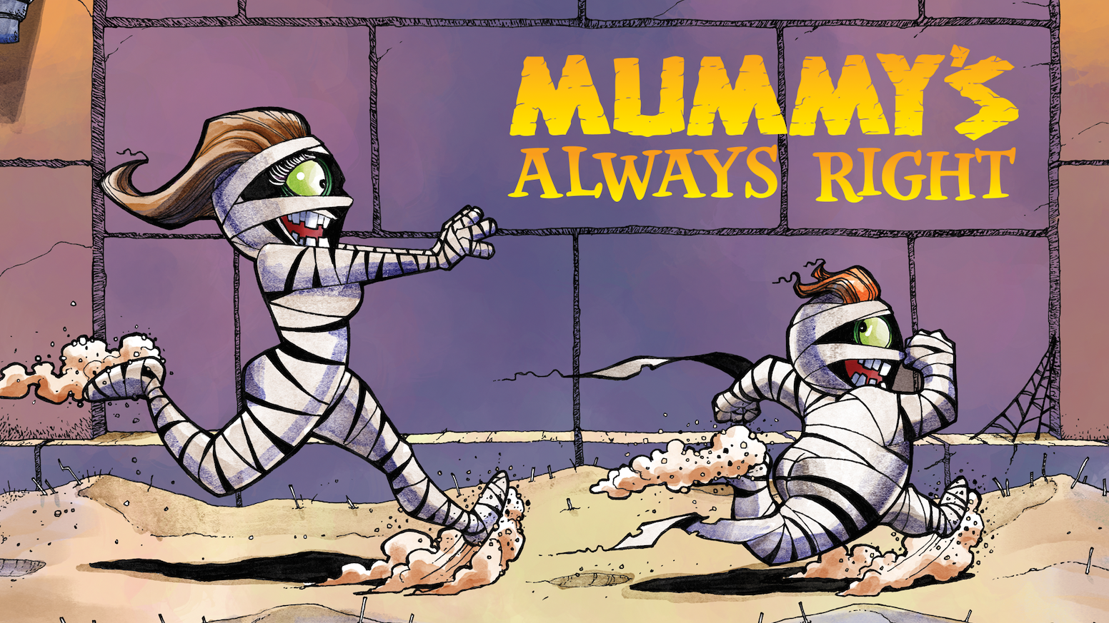 A high-quality children's board book about a little monster named GAWS who  learns to always listen to Mummy.