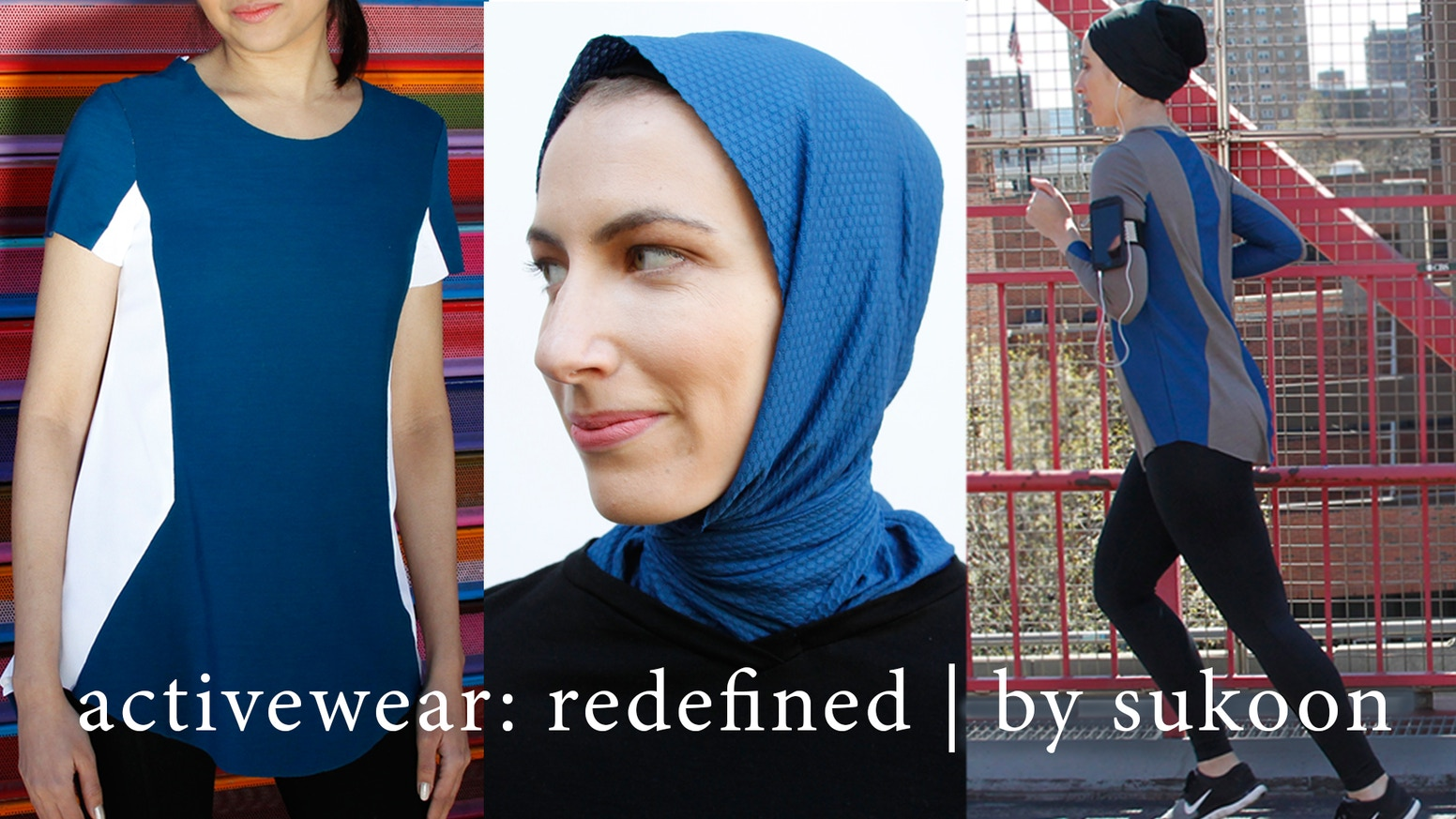 Sukoon activewear challenges the norm by introducing hijabs and shirts that are high-performing, modest, and on trend.