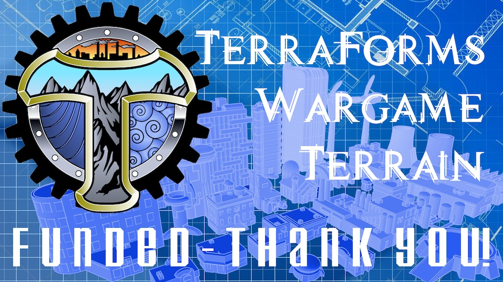 TerraForms Tabletop Wargame Terrain 10mm/12mm scale project video thumbnail