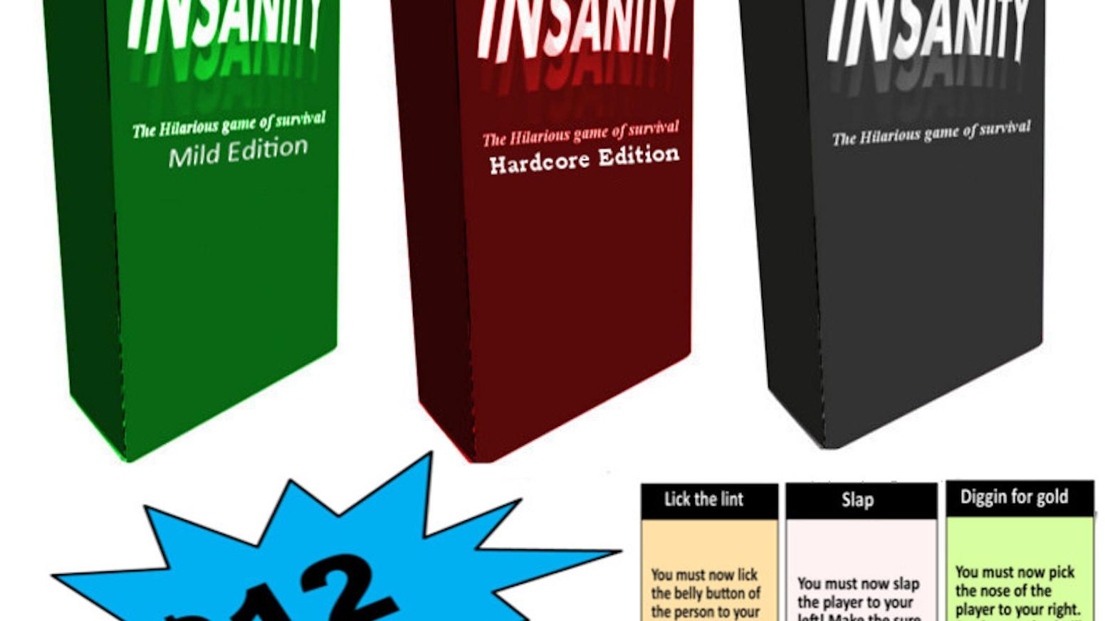 insanity by tyler king deleted kickstarter