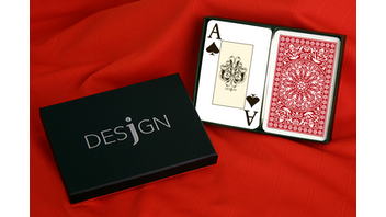 Desjgn 100% Plastic Playing Cards: Classic Baroque