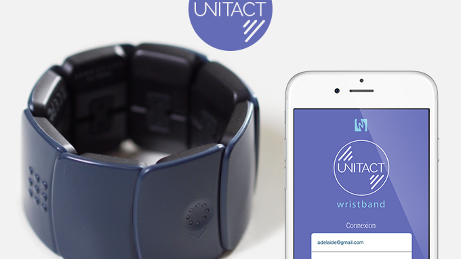 Unitact is the world very first connected bracelet that gives a better life for the deaf people and hearing-loss thanks to the touch.