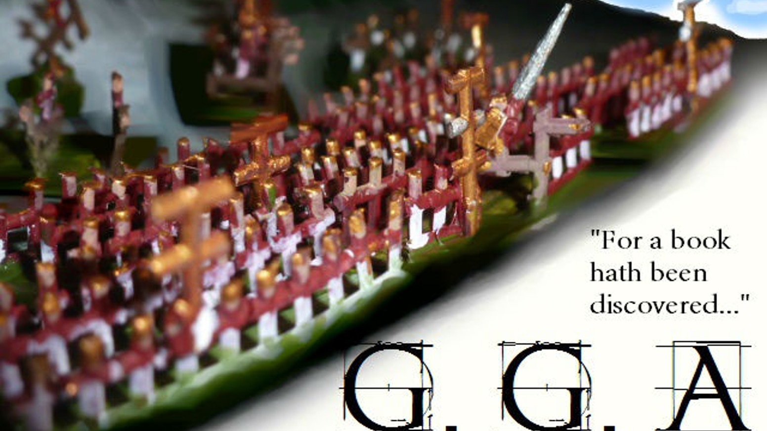 GGA is a wargaming rule set designed to let you re-enact the greatest ancient armies of history in 10mm.