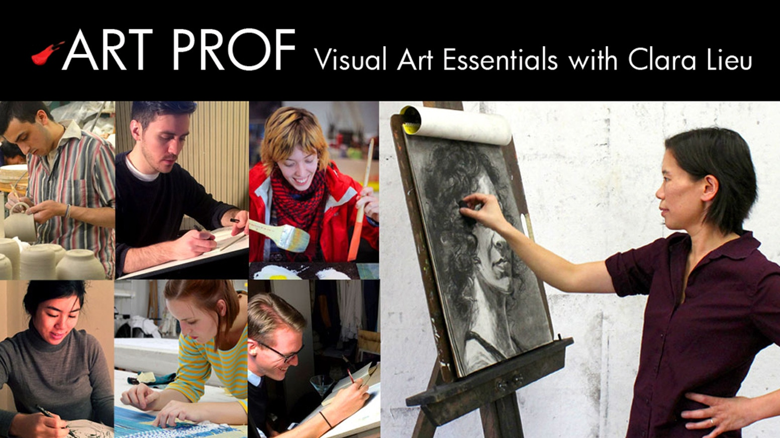 ART PROF is a free, online educational platform for visual arts.  Our mission is to provide equal access to art education for people of all ages and means.