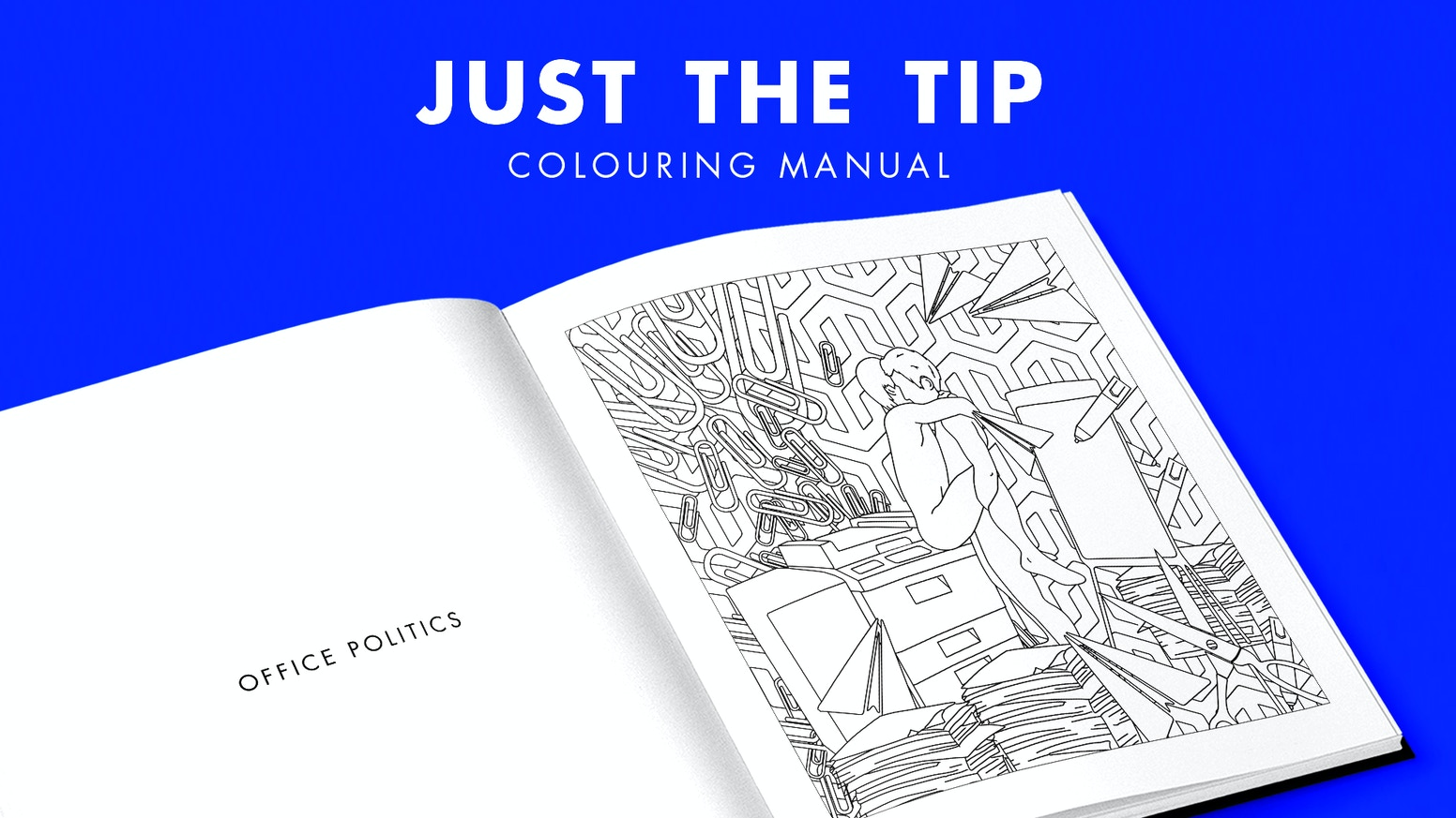 Just The Tip The Male Adult Colouring Book From Fill Me In