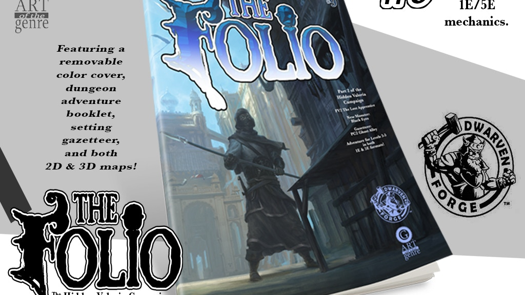 The Folio #9 The Lost Apprentice project video thumbnail