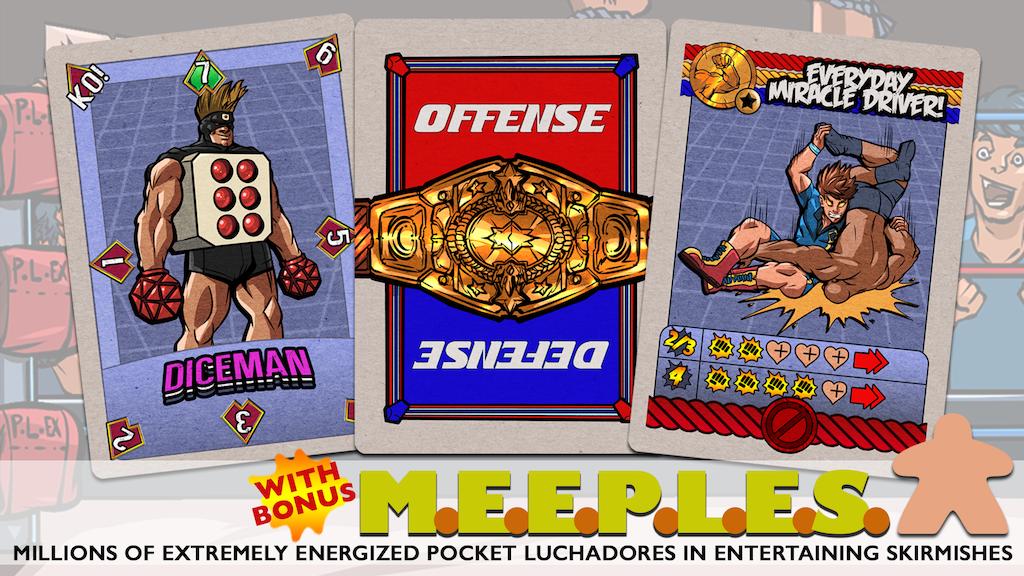 Super Pocket League Extreme Wrestling (SuperP.L.E.X.) project video thumbnail