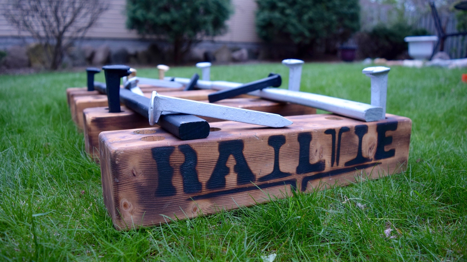 RailTie: The Newest Lawn Game Tieing Friends, Family, And The Great Outdoors Together. This Is What Life's All About.