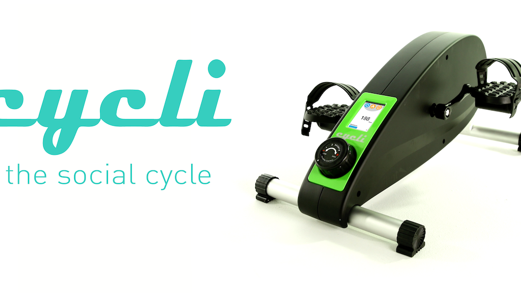 Cycli: First Social Under-Desk Cycle project video thumbnail