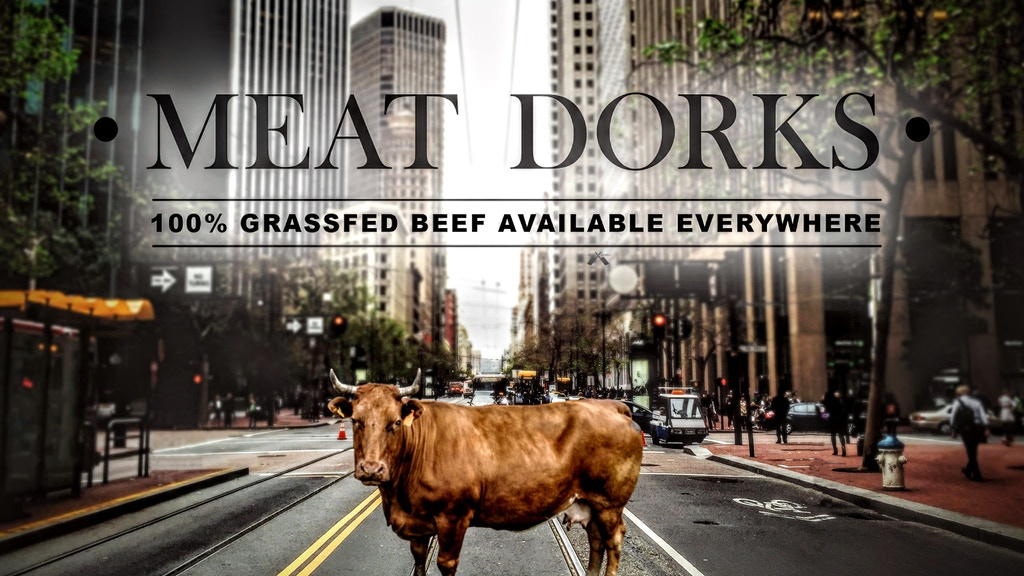 Meat Dorks: Source Verified 100% Grassfed Beef at Your Door. project video thumbnail