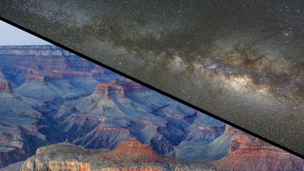 Grand Canyon at Night project video thumbnail