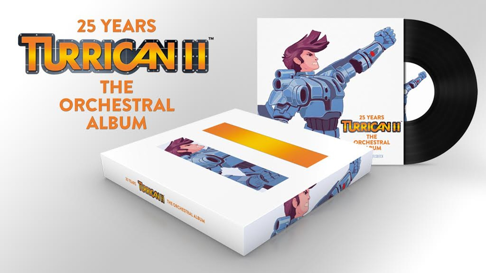 Chris Huelsbeck is creating a limited Collector's Edition Box Set featuring new live orchestra recordings of music from Turrican II!