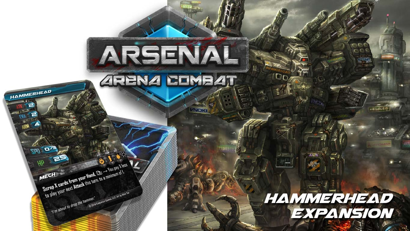 Arsenal: Arena Combat - Hammerhead Expansion by Shane Butler