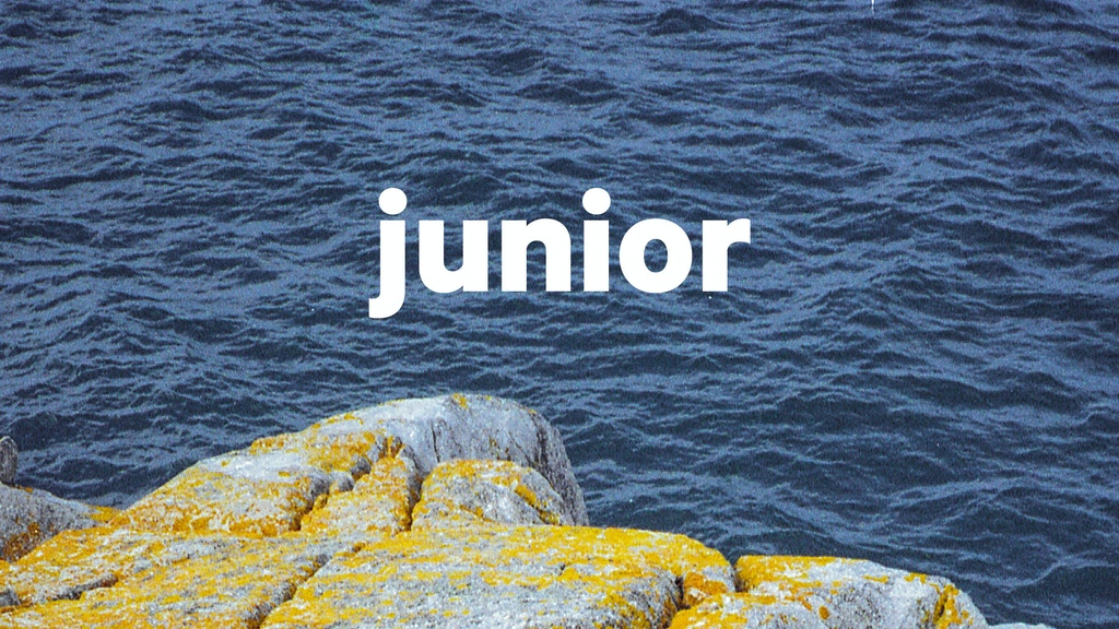 Junior Magazine project video thumbnail