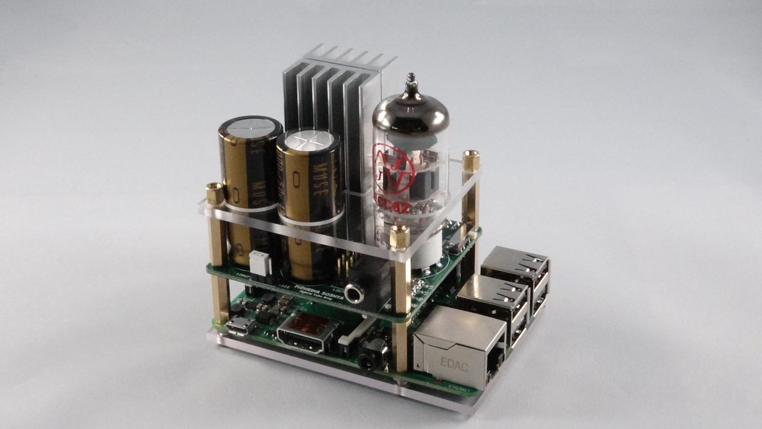 Hybrid Tube Amp for the Raspberry Pi by Pi 2 Design — Kickstarter