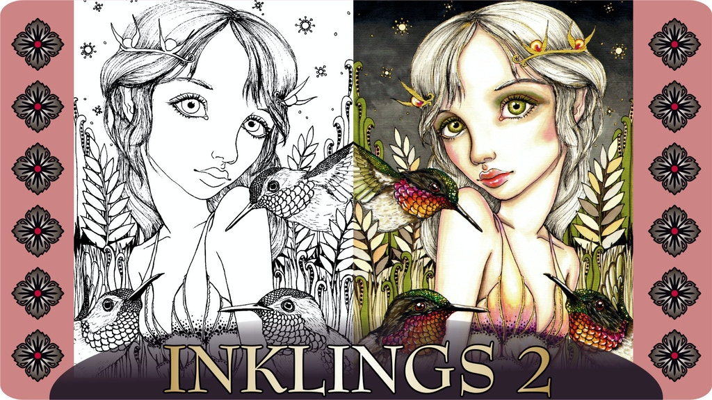 INKLINGS 2 - Coloring Book for Adults by artist Tanya Bond ...