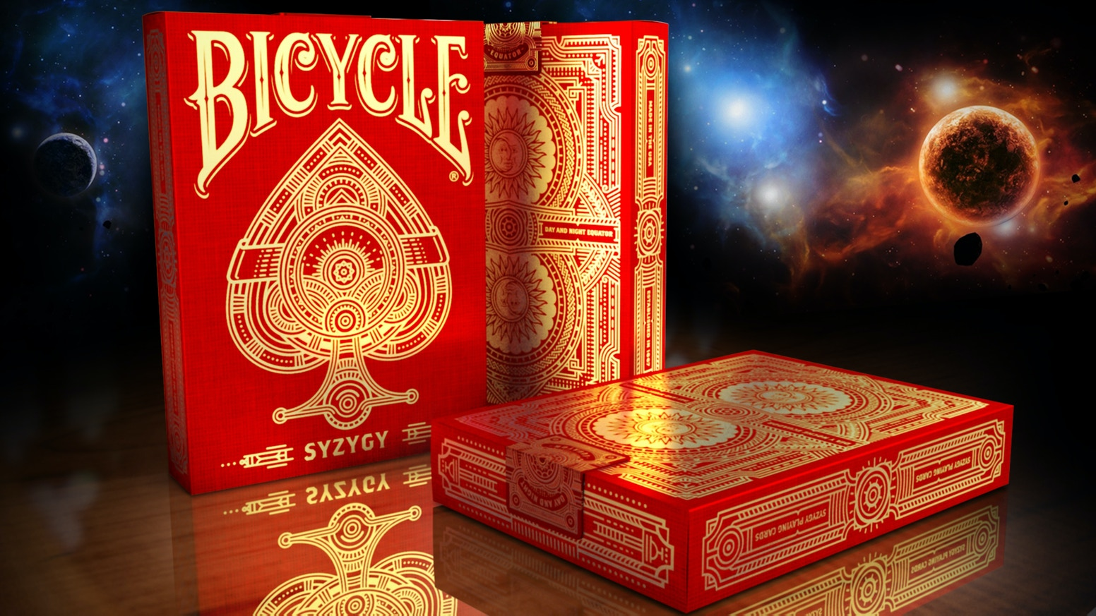 Syzygy bicycle playing cards deck by elite playing cards kickstarter 56 luxury hand crafted playing cards printed by the uspcc biocorpaavc Choice Image