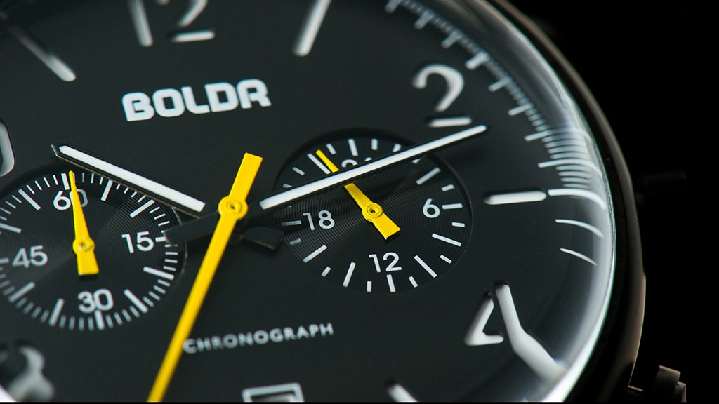 BOLDR Watches - Every Journey Begins With a Single Tick. project video thumbnail