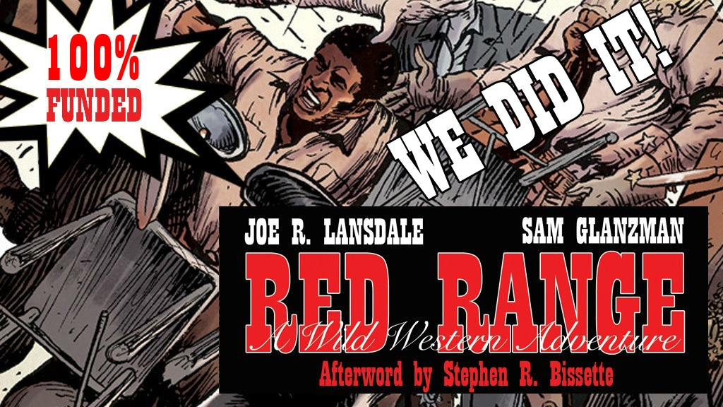 RED RANGE by Joe R. Lansdale & Sam Glanzman project video thumbnail