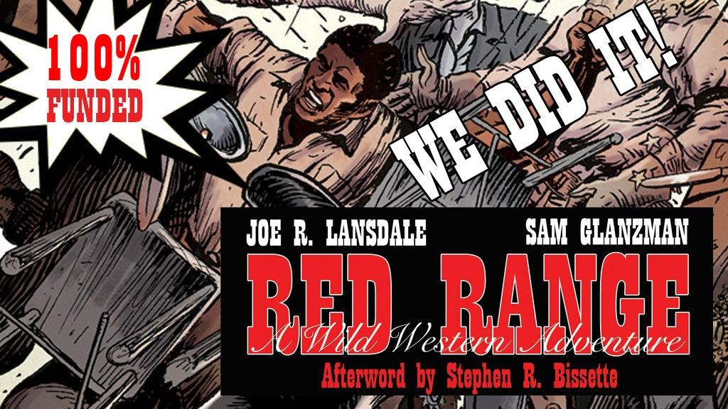 RED RANGE by Joe R. Lansdale & Sam Glanzman project video thumbnail