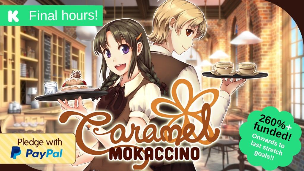 Caramel Mokaccino - Otome Visual Novel project video thumbnail