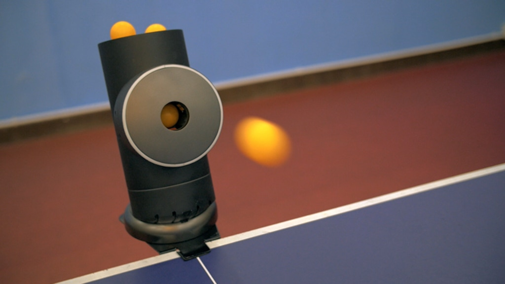 Trainerbot: Smart Table Tennis Robot project video thumbnail