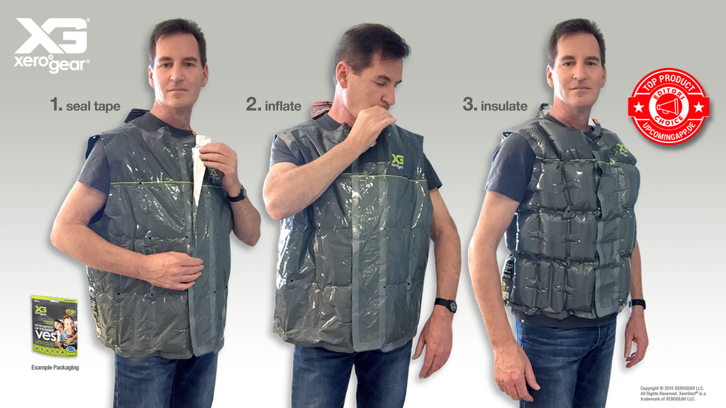 Project image for The XeroGear emergency cold-weather vest (Canceled)
