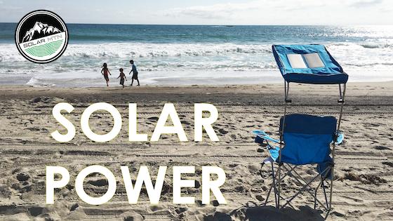 Charge Chair World First Solar Ed Beach