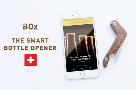 box bottle opener x world 39 s first smart bottle opener. Black Bedroom Furniture Sets. Home Design Ideas