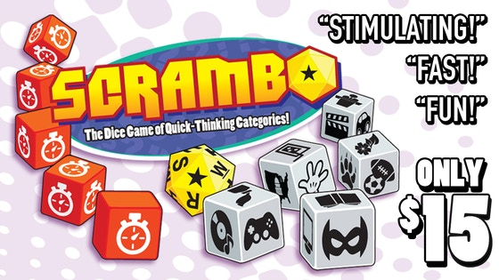 SCRAMBO - The Dice Game of Quick-Thinking Categories!