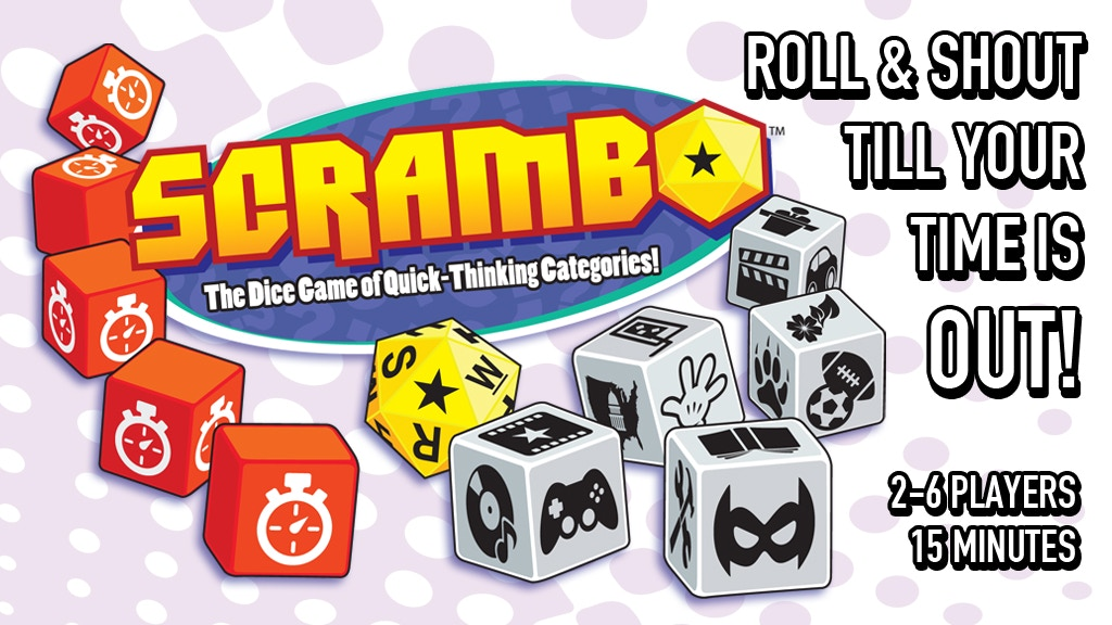 SCRAMBO - The Dice Game of Quick-Thinking Categories! project video thumbnail