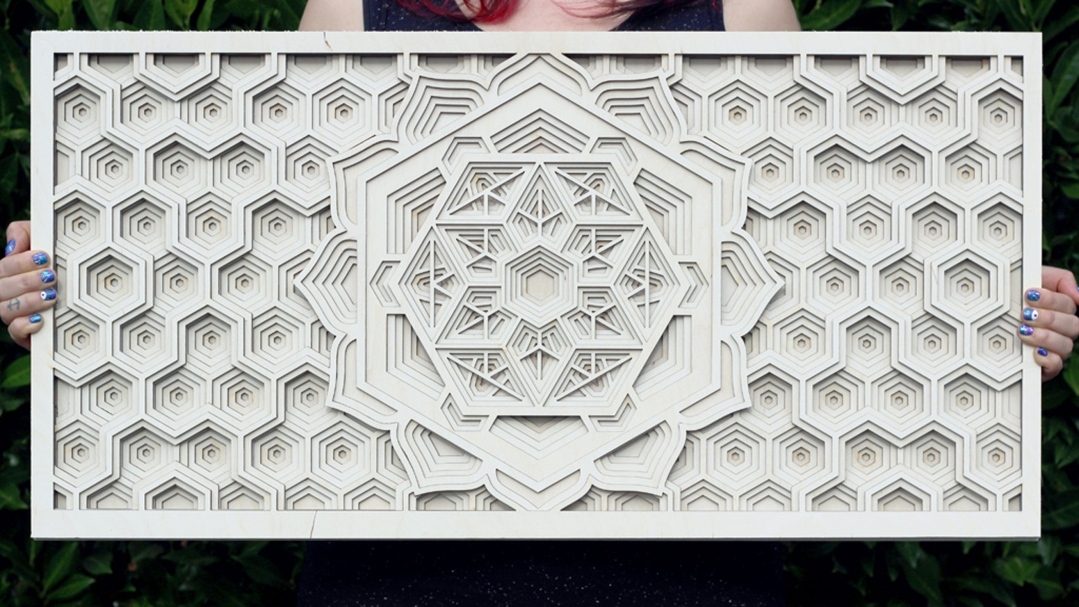 Help us buy a laser and we'll send you a beautiful mandala that reflects the beauty and intricacies of geometry in nature!